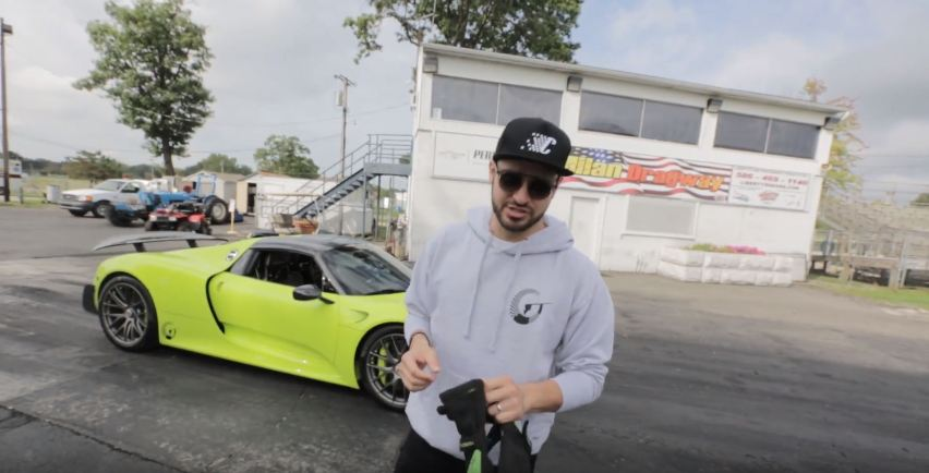 Salomondrin Teases Rimac Concept One vs Porsche 918 Race