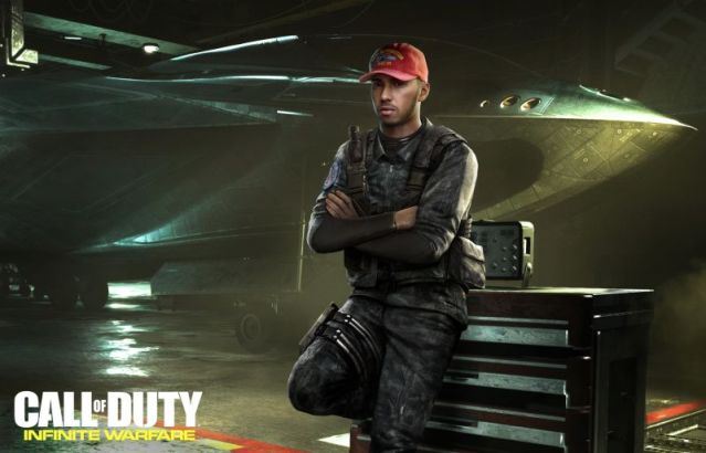 Lewis Hamilton to Appear in Call of Duty : Infinite Warfare