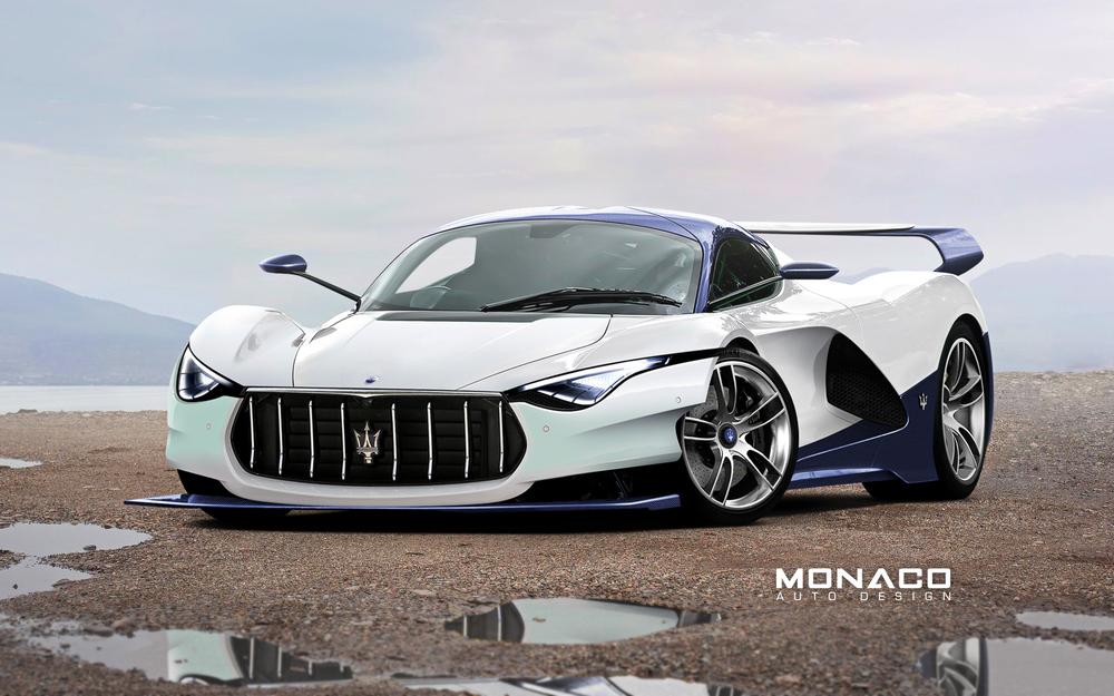 LaMaserati Concept Rendered by Monaco Auto Design