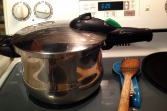 My trusty pressure cooker
