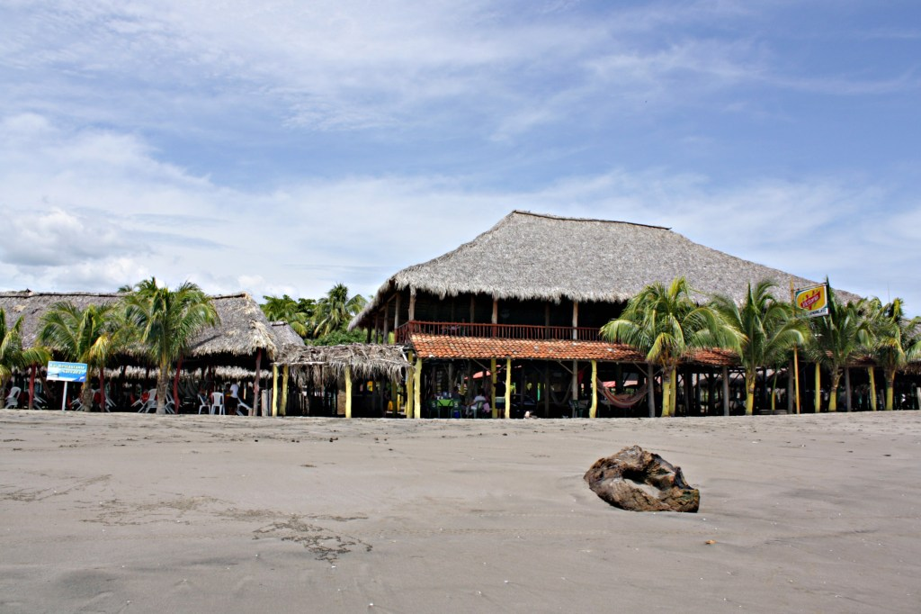 Restaurants at Playa Pochomil, Nicaragua