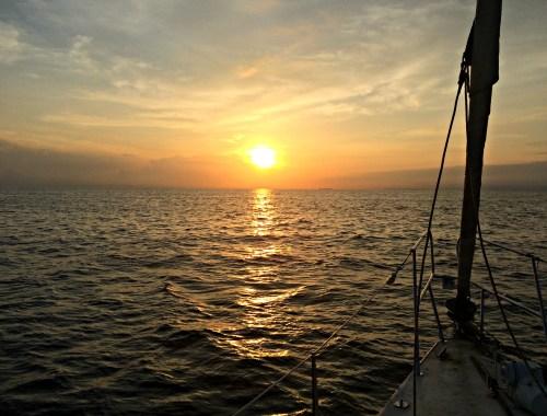 Sunset on the Sailboat Victory, San Blas Islands