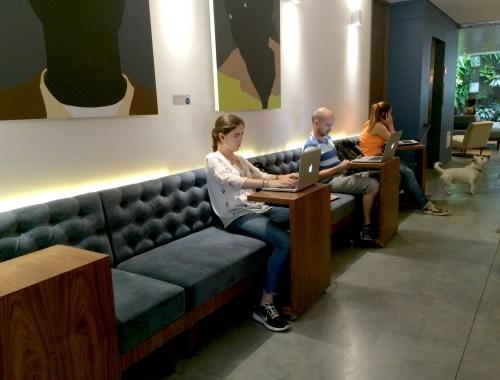Great wifi at Cafe Velvet, Medellin, Colombia