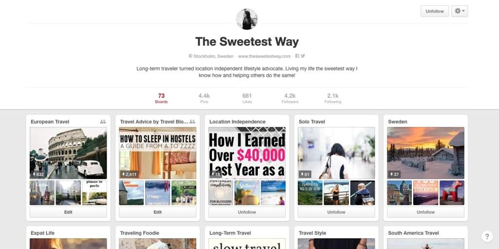 The Sweetest Way on Pinterest