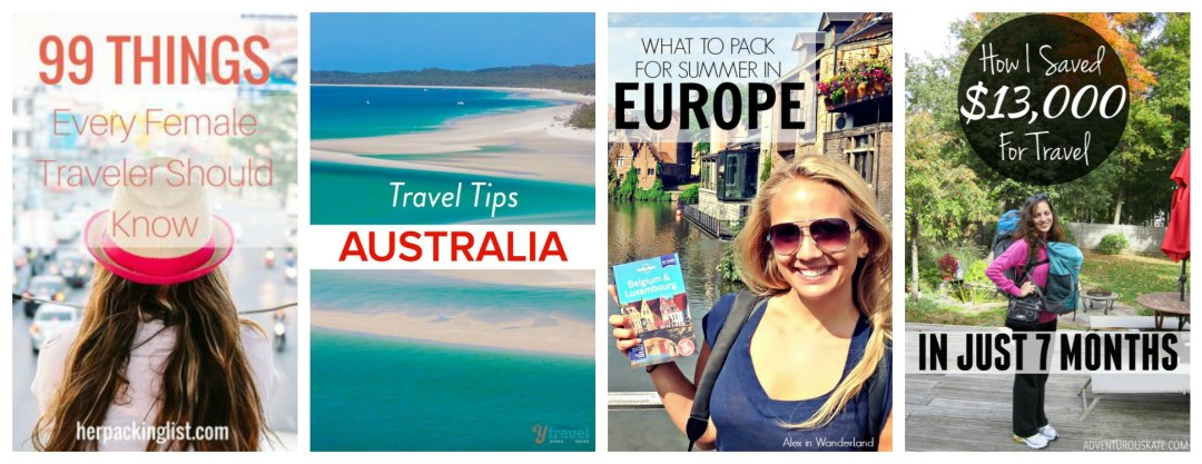 Types of Travel Pins that perform well on Pinterest