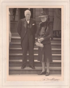 WG Sweet (1876-1953) and Jean (Brown) (1878-1952) circa 1947?