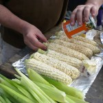 Seasoning the Pre-Buttered Corn