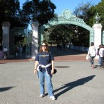 Close to my current weight (sorry - I ain't sharing that number), visiting my alma mater U.C. Berkeley over Thanksgiving week 2009.