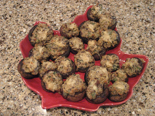 Fabulous Boursin Stuffed Mushrooms