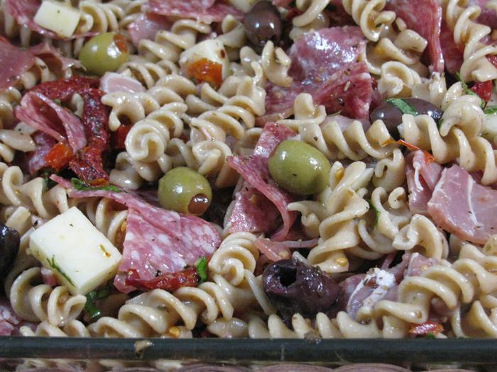 Emeril's Crowd-Pleasing Antipasto Pasta Salad