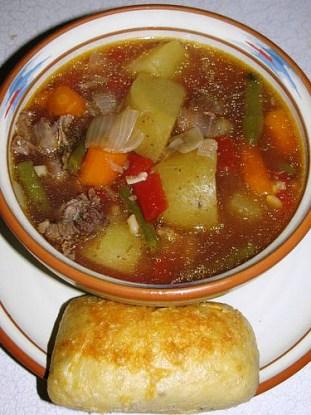 Prime Rib & Barley Soup