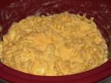 Lighter Slow Cooker Mac & Cheese