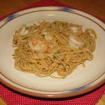 Giada's Shrimp with Lemon Oil