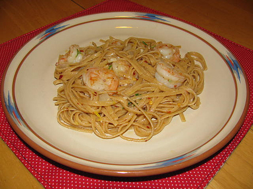 Giada's Shrimp with Lemon Oil