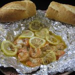 Hot and Spicy Shrimp in a Foil Packet