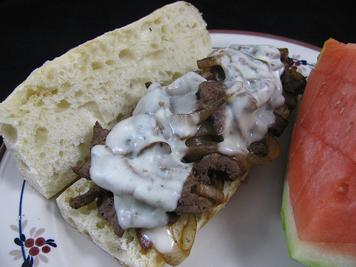 Healthy Philly Cheesesteaks
