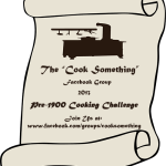 Cook Something 2013 Pre-1900 Cooking Challenge