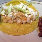 Honey Chipotle Shrimp Tacos
