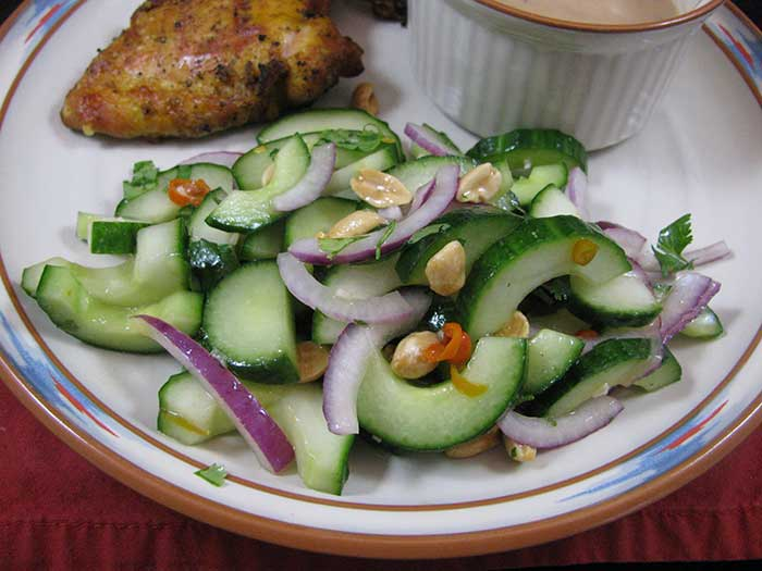 Thai Cucumber Salad