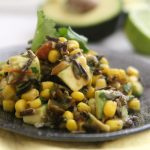 Southwestern Wild Rice, Avocado, and Corn Salad