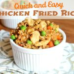 Quick and Easy Chicken Fried Rice