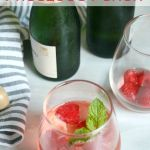 Raspberry Prosecco Punch