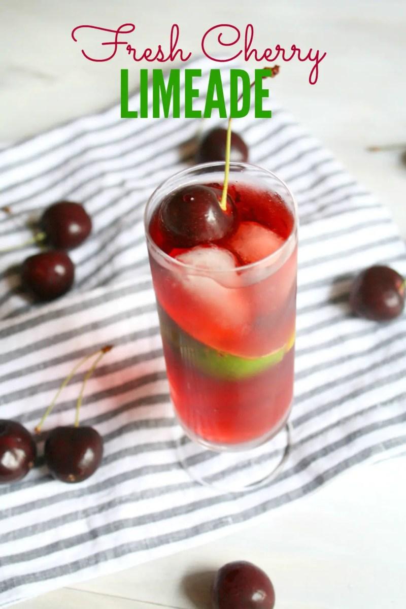 Fresh Cherry Limeade
