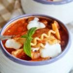 30-Minute Lasagna Soup