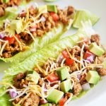 Taco Lettuce Boats