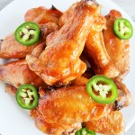 Sweet and Spicy Glazed Wings