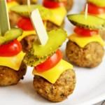 Double Cheeseburger Meatballs
