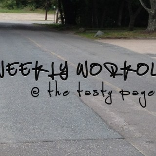 Weekly Workouts @ The Tasty Page