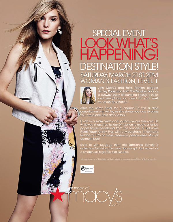Macy's Event Poster