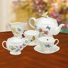 Butterfly Meadow Tea Set