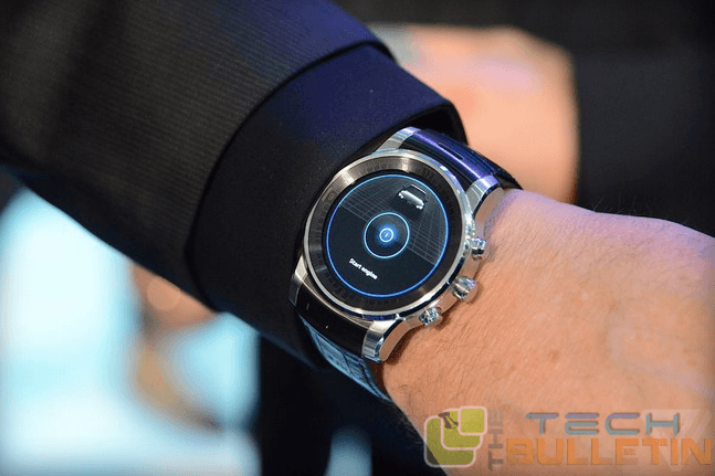 New LG Smartwatch at CES 2015