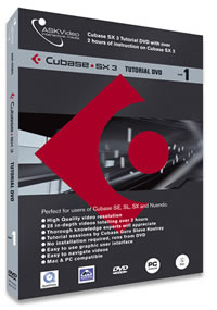 Ask Video SX ED Cubase Tutorial DVDs reviewed in The Technofile by MC Rebbe The Rapping Rabbi