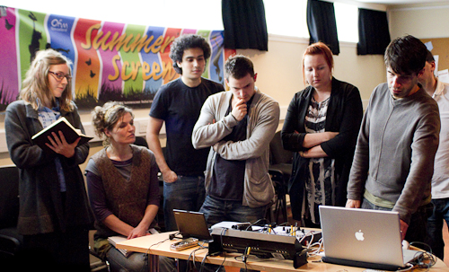 Oli Sorenson VJ Workshop