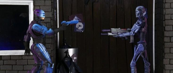 Robocop vs. The Terminator NECA Figures