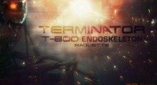 Sideshow Terminator Endoskeleton Maquette