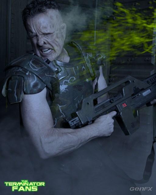 Hicks Alien 5 Make-Up Test David Woodruff