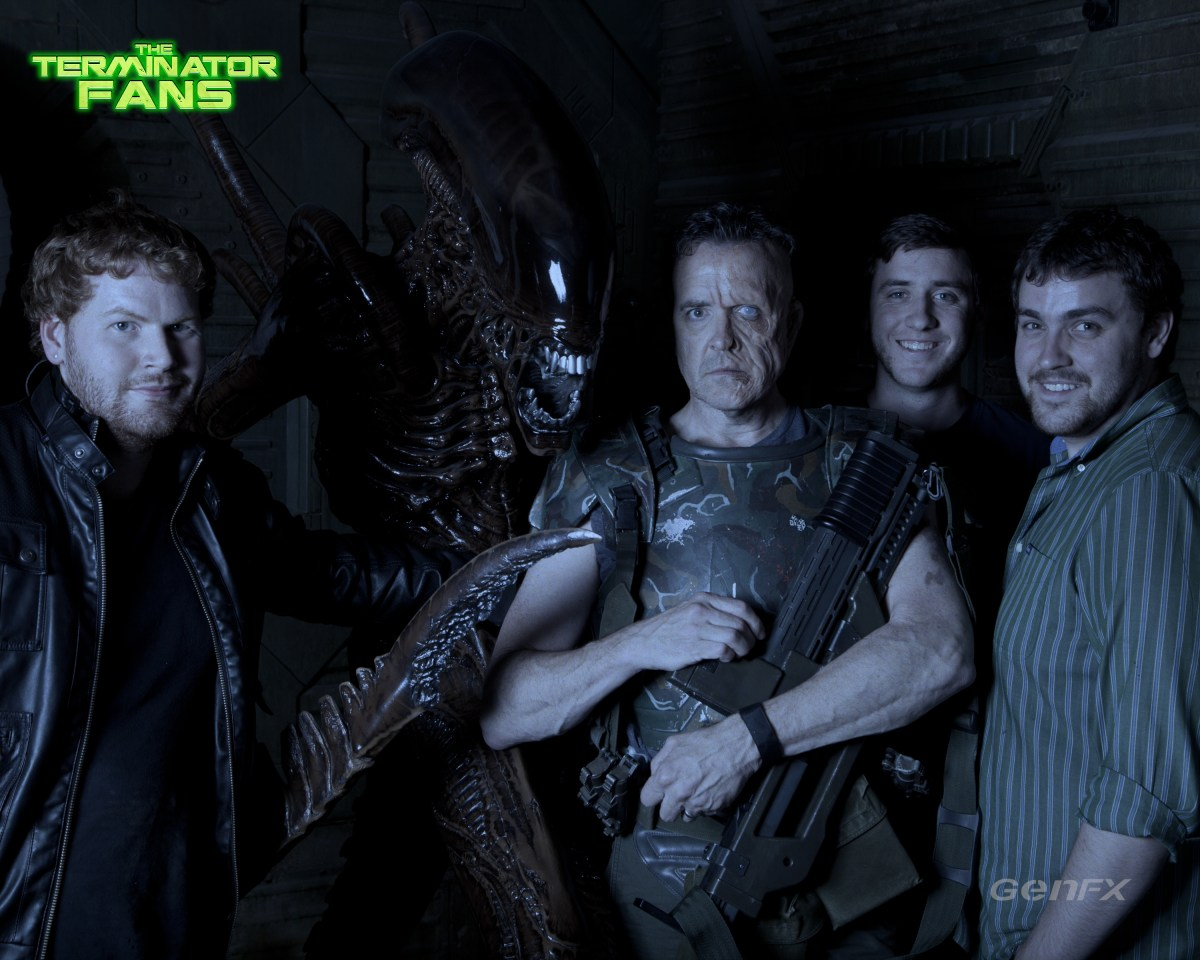 Exclusive: Alien 5 Michael Biehn Hicks Make-Up Test Professional Shots
