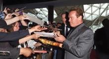 Arnold Schwarzenegger Terminator Gensiys London Preview