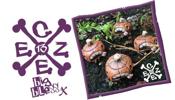 Big-Teeth-Pumpkins-Czee13-resin-toys-