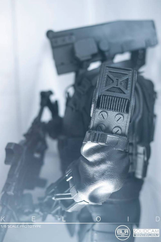 SolidCam Estudio VFX big lazy robot Keloid arm