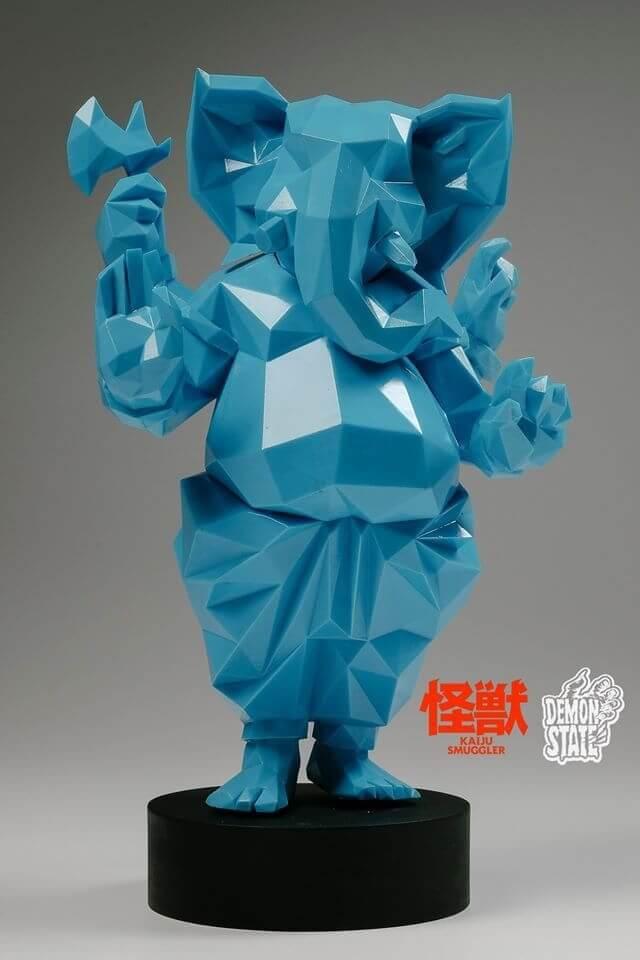 Lowpoly Ganesha By Kaiju Smuggler x Demon State TTE 2016