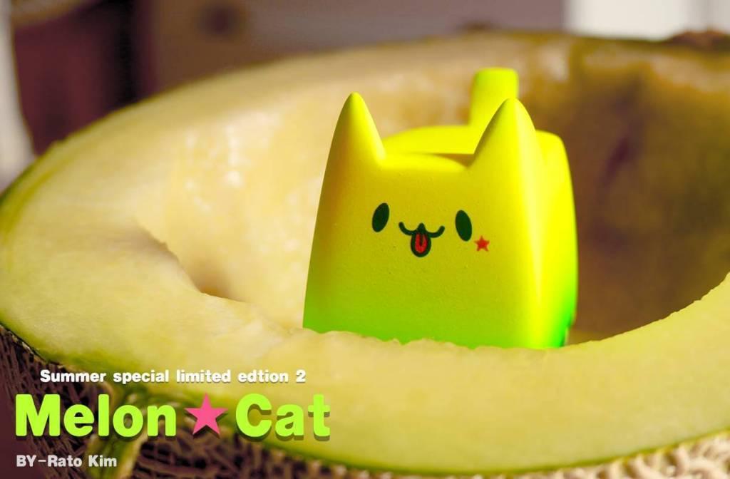 Boxcat Summer series MElon Bread CAt By Rato Kim 2