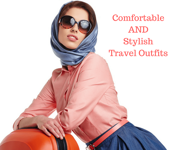 Comfortable AND Stylish Travel Clothes for Your Next Flight