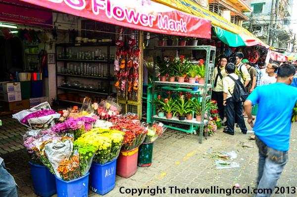 Dangwa Flower Market, Manila