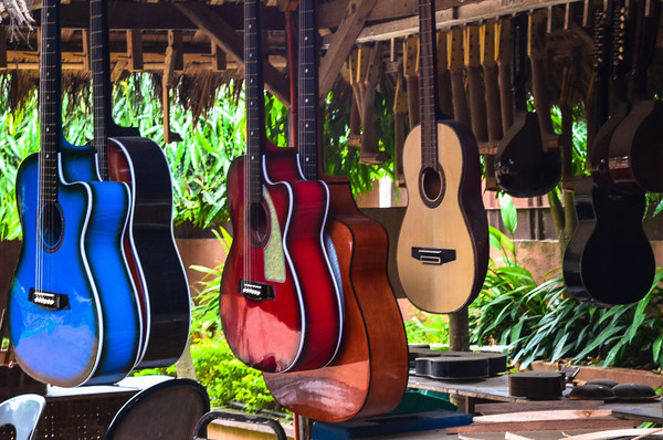 Alegre Guitars being made