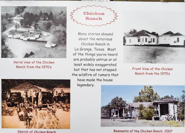 Chicken Ranch, La Grange Texas